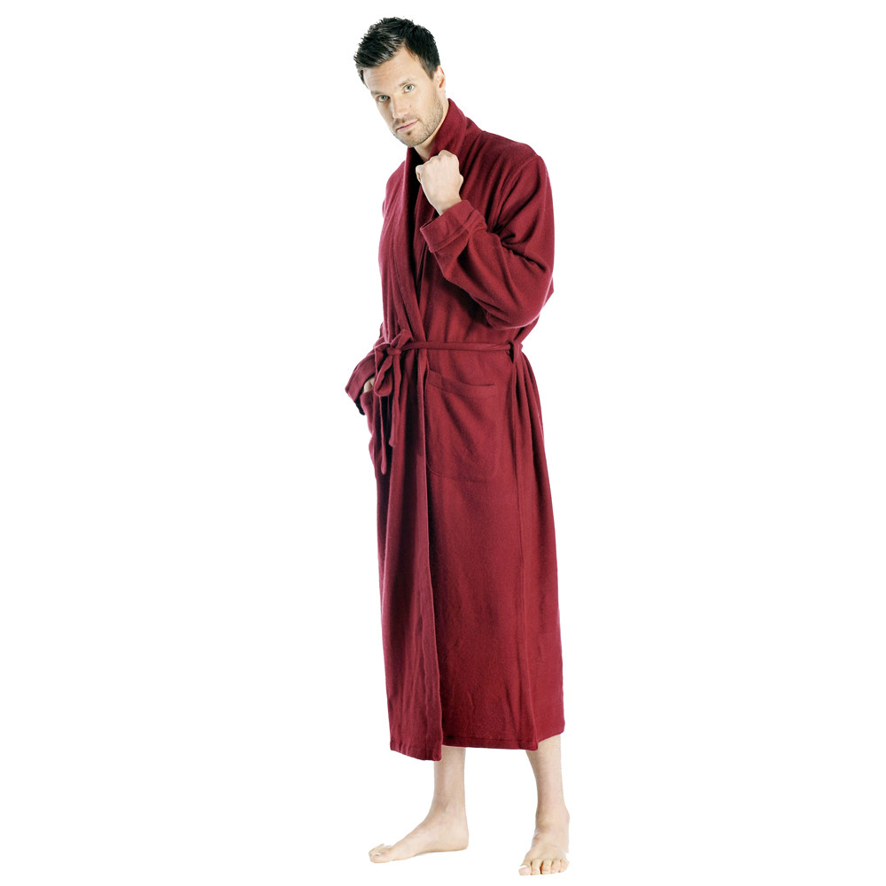 LUXURY Mens Cashmere Robe On Sale - Full Length