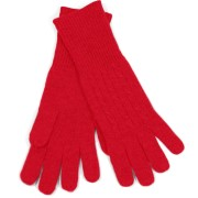Red Cashmere Gloves by Fishers Finery