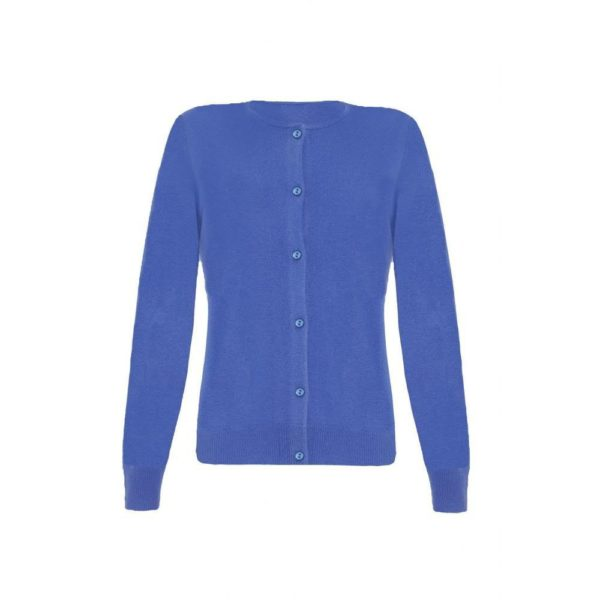 Blue Cashmere Twinset for Ladies