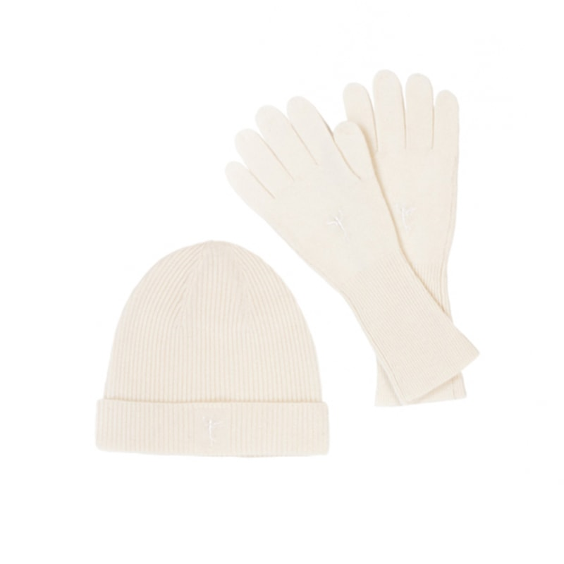 db7e738f248 Hat and Gloves Cashmere Set – Hand Knit.  94.95. Why buy one cashmere  product when you can enjoy in ...