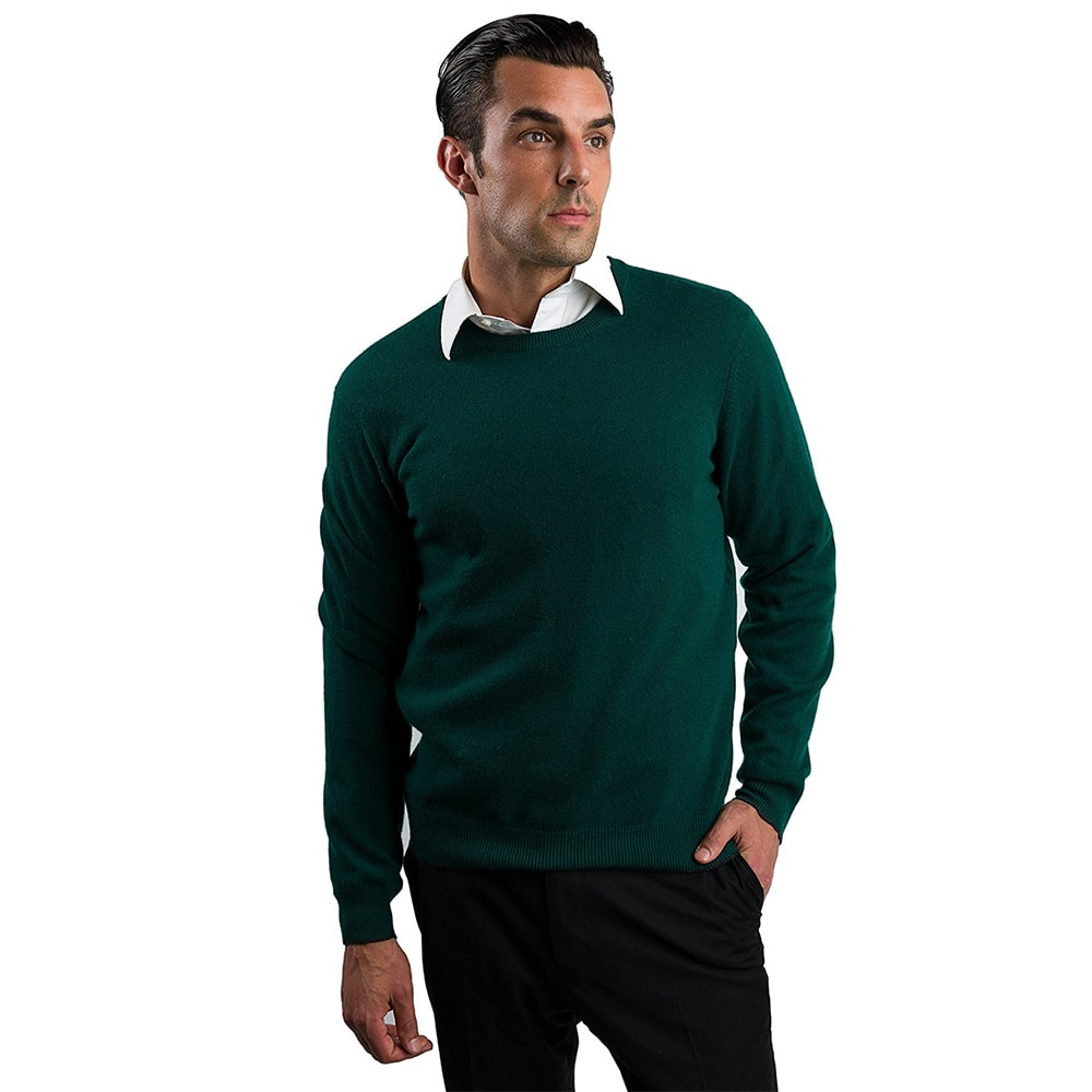 Mens Cashmere Crewneck Sweater