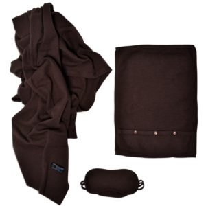 Cashmere Travel Throw Set