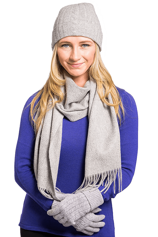1f0b79aeb The Best Women's Cashmere Hats and Scarves - Cashmere Mania
